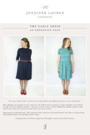 Gable Dress Pattern Cover