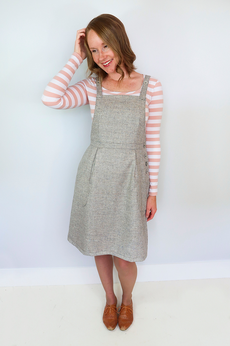 24f2f2366759 The Pippi Pinafore – Jennifer Lauren Handmade